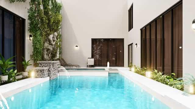 piscina en casa